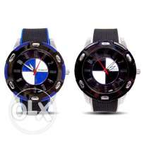 Men's wristwatch with BMW logo dial (We deliver)