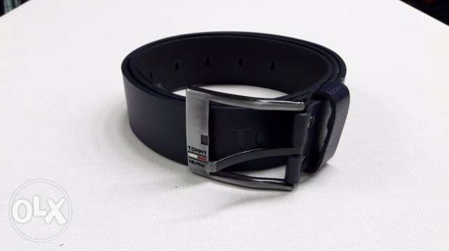 leather belt tommy hilfiger