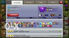 Coc account 4 sale