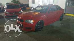 Bmw 135 M package full options black interior ajnabieh very clean