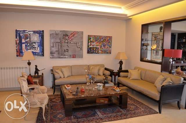 For Rent in Mtayleb 262sqm Furnished Apartment + 180sqm garden