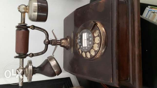 Old telephone.. last piece زلقا -  2