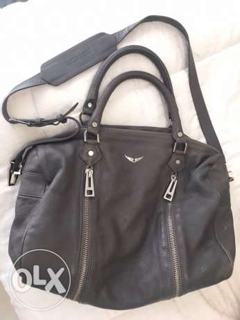 Zadig & Voltaire bowling bag