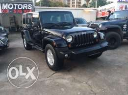 Jeep Wrangler Unlimited Sahara 2008 Black in Excellent Condition!
