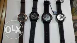 Nice men's watches leather and original with waranty and water proof