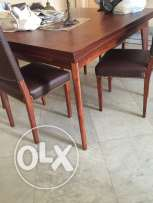 dinning table with extension