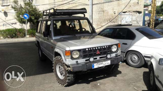 Pajero model 1989 automatic 4x4 .ac البحصاص -  1