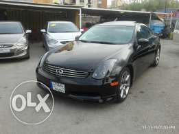 Infiniti G35 model 2003 aswad aswad full 5ar2a ma3 camera taksit bank