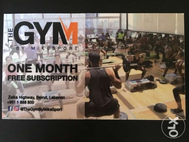 One Month Subscription Mike Sport GYM