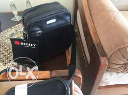 Delsey cross body bag for men -original
