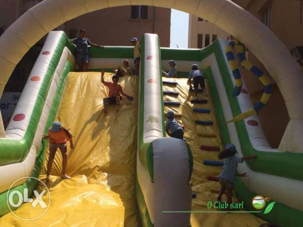 Funny and Amazing Slide Inflatable for kids!