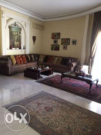 furnished apartment for rent in RAAS BEIRUT ( BRISTOL )