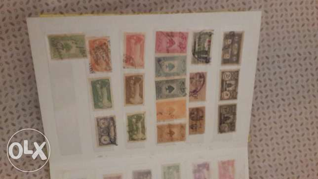Stamps (Lebanese & French)