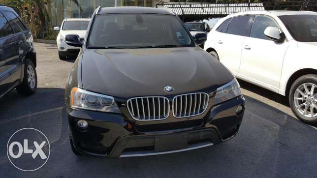 2011 BMW X3 2.8i fully equipped black