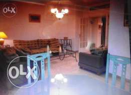 Furnished apartment for rent in Rabieh Very calm place and environment