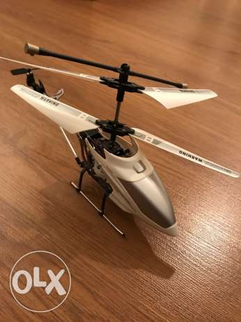 i-helicopter: iPhone/iPad/iTouch RC Controlled 3CH