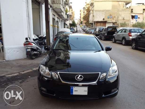 Lexus GS300-Mod:2006-Black/Black Leather-Premium Pack-Mint Condition!