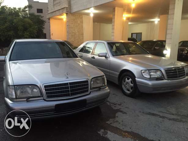 mercedes-benz s klass 320 model 1999 الغازية -  2