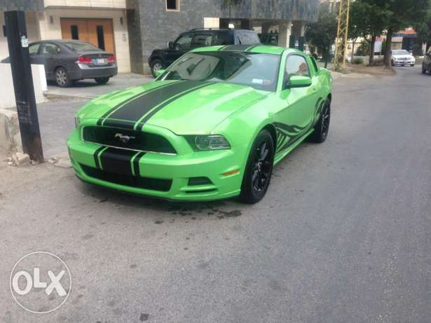 2013 Ford Mustang Green
