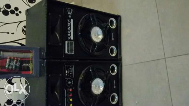 Karaoke system good condition