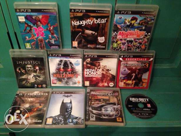 11 GAMES PS3 best quality possible (including BLACK OPS 2)