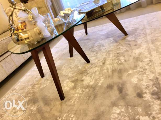 Two Contemporary Tables For Sale