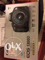 canon ios 1300 d brand new not using