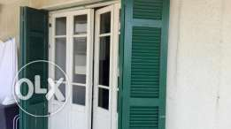 Antique doors, abajour, shutters