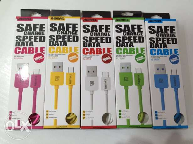 data and charging cable remax عاليه -  1