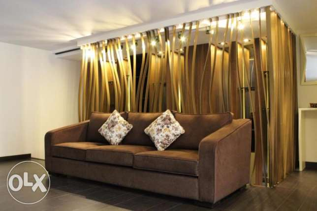 3-seater brown couch راس  بيروت -  1