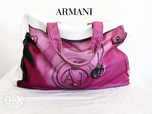 Pre owned ARMANI Jeans Hand bag C033