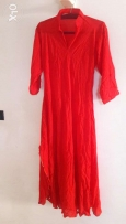 Brand new red dress Indian style