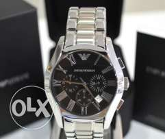 Original Armani Silver chronographe (brand new for a great deal)