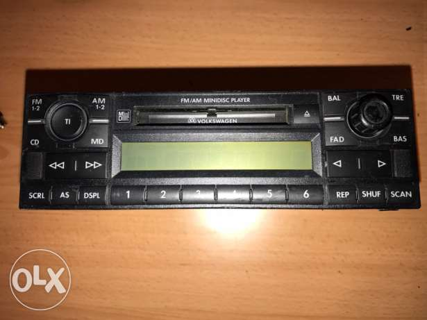vw golf 4 radio Md