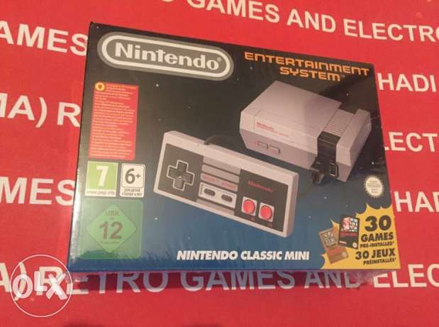 nintendo mini classic NEW sealed built in games HDMI