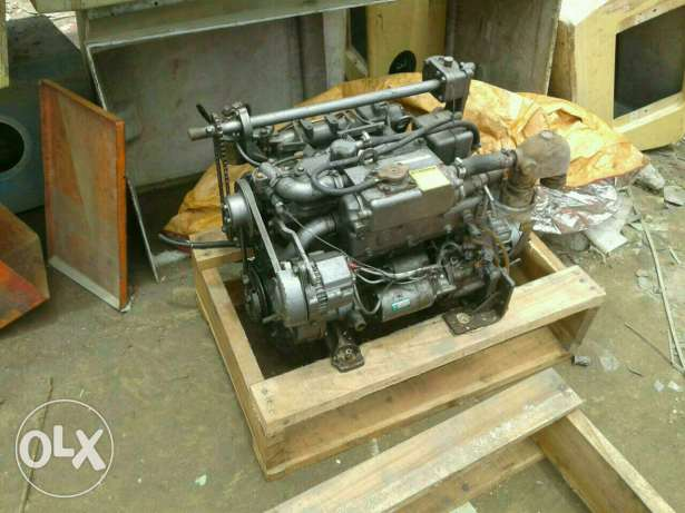 Used yanmar marine engine