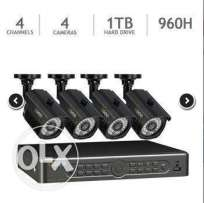 4 Channel 960h Dvr Security System