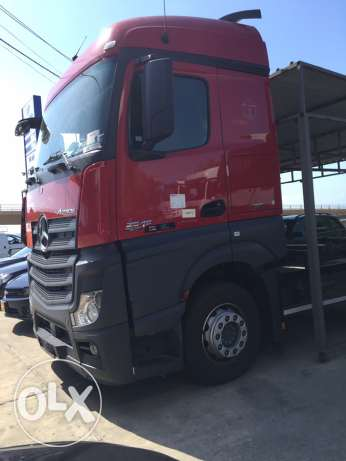 Mercedes-Benz Actros 2545 , six jarara , automatic , full options
