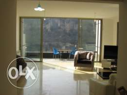 150 sqm apartment with VIEW & garden for sale in Daishounie Mansourie
