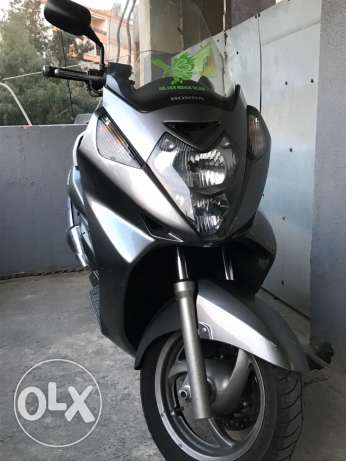 silver wing 600cc good condition full kit malosi