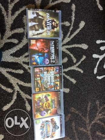 3 games PS3. (One at 15$)
