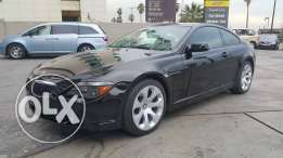 BMW 2005/645 Black on Black clean Car Fax one owner, no accidents