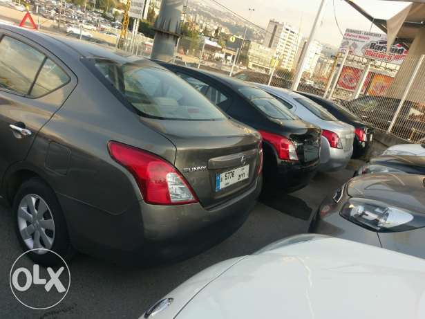 Nissan sunny 2013 and 2014 for sale