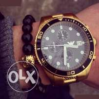 Genuinr EA Gold for men - Rolex style - New under company's warranty
