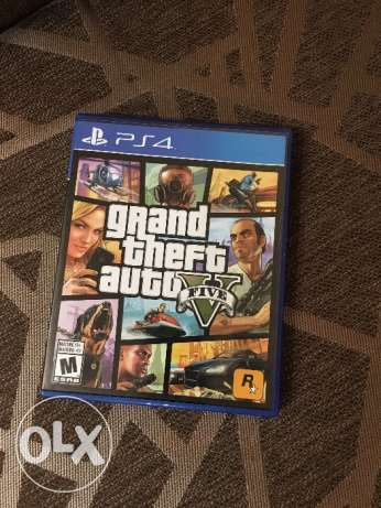 Gta 5 ps4, used once only