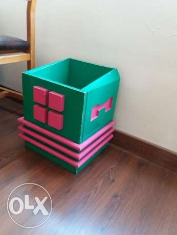 Wood cube for toys