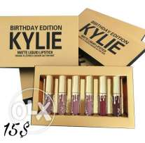 Kylie Matte Liquid Lipstick Set ( Birthday Edition )