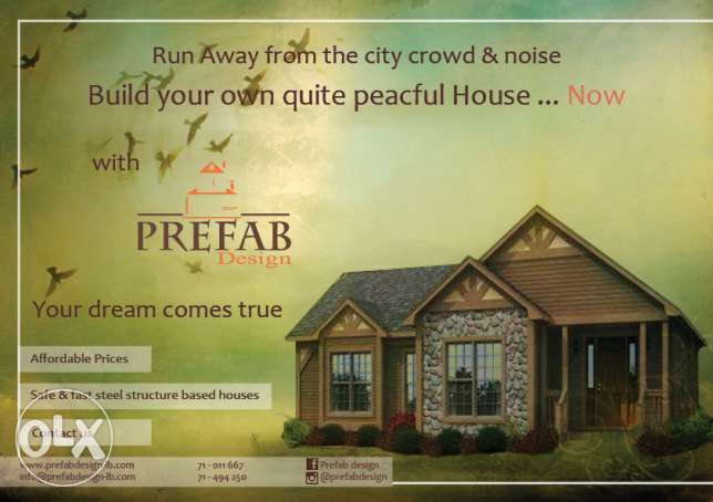 Prefabricated houses