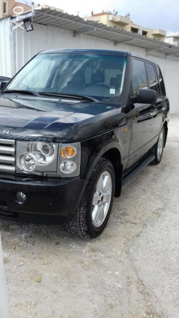 Range rover vogue hse black&black
