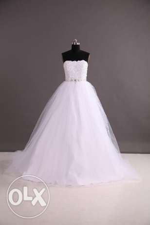 princess tulle wedding dress for sale